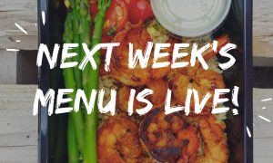 a weekly menu